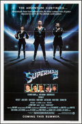 """Movie Posters:Action, Superman II (Warner Brothers, 1981). Folded, Very Fine+. One Sheet (27"""" X 41"""") Advance. Action.. ..."""