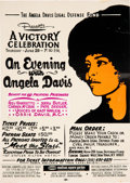 "Miscellaneous:Broadside, ""An Evening with Angela Davis"" Broadside. ..."