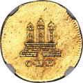 German States:Hamburg, German States: Hamburg. Free City gold Off-Metal Schilling 1798-OHK MS63 NGC,...