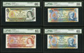 Canadian Currency, BC-46aS thru BC-53as $1; $2; $5; $10; $20; $50; $100; $5 1969-1979Specimen Set.. ... (Total: 8 notes)