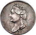 """Russia, Russia: Catherine II silver """"Bronze Horseman"""" Medal 1782 MS62 PCGS,..."""