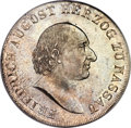 German States:Nassau, German States: Nassau. Friedrich August Taler 1815-CT MS64 PCGS,...
