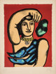 Fernand Léger (1881-1955) Marie L'Acrobat, 1948 Lithograph in colors on Arches paper 25-3/4 x 19-3/4 inches (65.4...