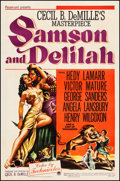 """Movie Posters:Adventure, Samson and Delilah (Paramount, 1949). Fine+ on Linen. One Sheet (27"""" X 41""""). Adventure.. ..."""