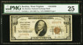 National Bank Notes:West Virginia, Beckley, WV - $10 1929 Ty. 1 The Beckley National Exchange Bank Ch.# 10589 PMG Very Fine 25.. ...