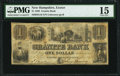 Obsoletes By State:New Hampshire, Exeter, NH- Granite Bank $1 May 1, 1839 G16 PMG Choice Fine 15.. ...