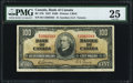 Canadian Currency, BC-27b $100 1937 PMG Very Fine 25.. ...