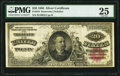 Large Size:Silver Certificates, Fr. 316 $20 1886 Silver Certificate PMG Very Fine 25.. ...