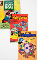 Bronze Age (1970-1979):Cartoon Character, Mickey Mouse Box Lot (Gold Key, 1966-84) Condition: Average FN....
