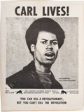 Miscellaneous:Broadside, Carl Lives! Poster....