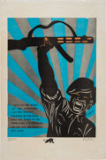 Miscellaneous:Broadside, Emory Douglas Untitled Poster....