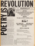 Miscellaneous:Broadside, 1968 Poster of Guerilla: The Free Newspaper of the Streets....