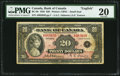 Canadian Currency, BC-9b $20 1935 Small Seal PMG Very Fine 20.. ...