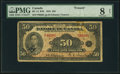 Canadian Currency, BC-14 $50 1935 PMG Very Good 8 Net.. ...