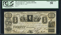 Canadian Currency, Peterborough, UC- Newcastle District Loan Company 4 Piastres Aug. 27, 1836 Ch. # 525-10-06 PCGS Choice About New 58.. ...