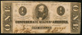 Confederate Notes:1863 Issues, T62 $1 1863 PF-6 Cr. UNL Extremely Fine-About Uncirculated.. ...