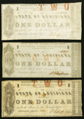 Obsoletes By State:Louisiana, Shreveport, LA- State of Louisiana $1 (3) Mar. 1, 1864 Cr. 19A; 19E (2) Very Good or better.. ... (Total: 3 notes)