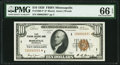 Small Size:Federal Reserve Bank Notes, Fr. 1860-I* $10 1929 Federal Reserve Bank Note. PMG Gem Uncirculated 66 EPQ.. ...