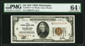 Fr. 1870-C* $20 1929 Federal Reserve Bank Note. PMG Choice Uncirculated 64 EPQ