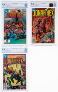 Bronze Age (1970-1979):Western, Jonah Hex #14, 60, and 66 CBCS-Graded Group (DC, 1978-82) CBCS NM/MT 9.8.... (Total: 3 )
