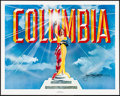 """Movie Posters:Miscellaneous, The Stars of Columbia Pictures (The Art Merchant, 1982). Rolled,Very Fine+. Autographed Poster (24"""" X 30""""). Miscellaneous...."""