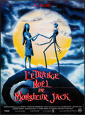 """Movie Posters:Animation, The Nightmare Before Christmas (Gaumont Buena Vista International,1994). Folded, Very Fine. French Grande (45.5"""" X 62""""). An..."""