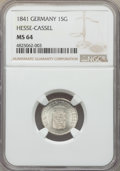 German States:Hesse-Cassel, German States: 4-Piece Lot of Certified German Minors NGC,... (Total: 4 coins)