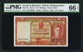 World Currency, Southern Rhodesia Southern Rhodesia Currency Board 10 Shillings 1.2.1945 Pick 9c PMG Gem Uncirculated 66 EPQ.. ...