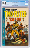 Golden Age (1938-1955):War, Two-Fisted Tales #38 Gaines File Pedigree 9/12 (EC, 1954) CGC NM9.4 White pages....