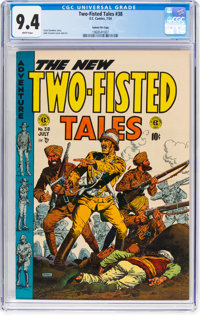 Two-Fisted Tales #38 Gaines File Pedigree 9/12 (EC, 1954) CGC NM 9.4 White pages