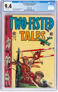 Two-Fisted Tales #40 Gaines File Pedigree 12/12 (EC, 1955) CGC NM 9.4 White pages
