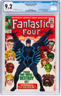 Silver Age (1956-1969):Superhero, Fantastic Four #46 (Marvel, 1966) CGC NM- 9.2 Off-white to whitepages....