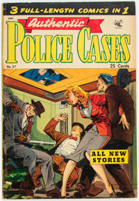 Authentic Police Cases #27 (St. John, 1953) Condition: VG
