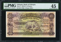World Currency, Ethiopia Bank of Ethiopia 10 Thalers 29.4.1933 Pick 8 PMG Choice Extremely Fine 45.. ...