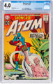 Showcase #34 The Atom (DC, 1961) CGC VG 4.0 Off-white pages