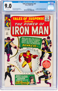 Tales of Suspense #57 (Marvel, 1964) CGC VF/NM 9.0 White pages