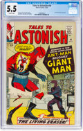 Silver Age (1956-1969):Superhero, Tales to Astonish #49 (Marvel, 1963) CGC FN- 5.5 Off-whitepages....
