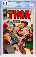 Silver Age (1956-1969):Superhero, Thor #126 (Marvel, 1966) CGC NM- 9.2 Off-white to white pages....