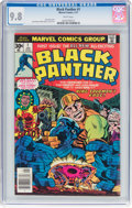 Bronze Age (1970-1979):Superhero, Black Panther #1 (Marvel, 1977) CGC NM/MT 9.8 White pages....