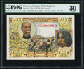 World Currency, Comoros Banque de Madagascar et des Comores 5000 Francs ND (1960-63) Pick 6c PMG Very Fine 30.. ...