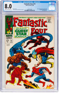 Silver Age (1956-1969):Superhero, Fantastic Four #73 (Marvel, 1968) CGC VF 8.0 Cream to off-whitepages....