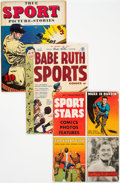 Golden Age (1938-1955):Miscellaneous, Golden to Silver Age Sports-Related Comics Group of 27 (Various Publishers, 1950s-60s) Condition: Average VG.... (Total: 27 Comic Books)