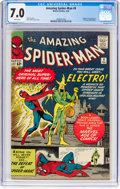 Silver Age (1956-1969):Superhero, The Amazing Spider-Man #9 (Marvel, 1964) CGC FN/VF 7.0 Whitepages....