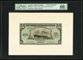 Canadian Currency, Georgetown, British Guiana- Royal Bank of Canada $5 (£1-0-10)3.1.1938 Ch. # 630-38-02FP; BP Face and Back Proofs PMG Gem ...(Total: 2 notes)