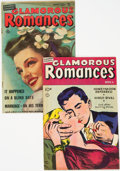 "Golden Age (1938-1955):Romance, Glamorous Romances #43 and 47 Davis Crippen (""D"" Copies) pedigreeGroup (Ace, 1949-50) Condition: Average FN.... (Total: 2 ComicBooks)"