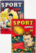 Golden Age (1938-1955):Non-Fiction, Sport Comics #2 and 4 Group (Street & Smith, 1941) Condition: Average FN.... (Total: 2 Comic Books)