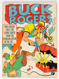 Buck Rogers #3 (Eastern Color, 1941) Condition: FN