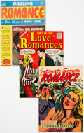 Golden Age (1938-1955):Romance, Romance Comics Group of 5 (Various, 1950s) Condition: Average FN.... (Total: 5 Comic Books)