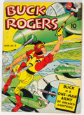 Golden Age (1938-1955):Adventure, Buck Rogers #4 (Eastern Color, 1942) Condition: FN+....