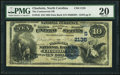 National Bank Notes:North Carolina, Charlotte, NC - $10 1882 Date Back Fr. 542 The Commercial NB Ch. # (S)2135 PMG Very Fine 20.. ...